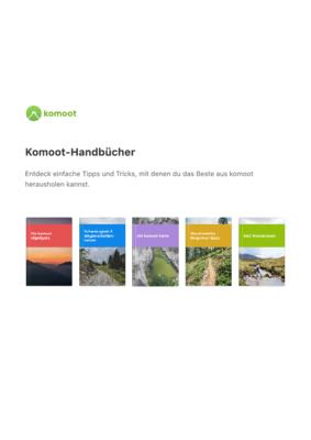 Komoot Guides German