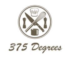 375 Degrees logo