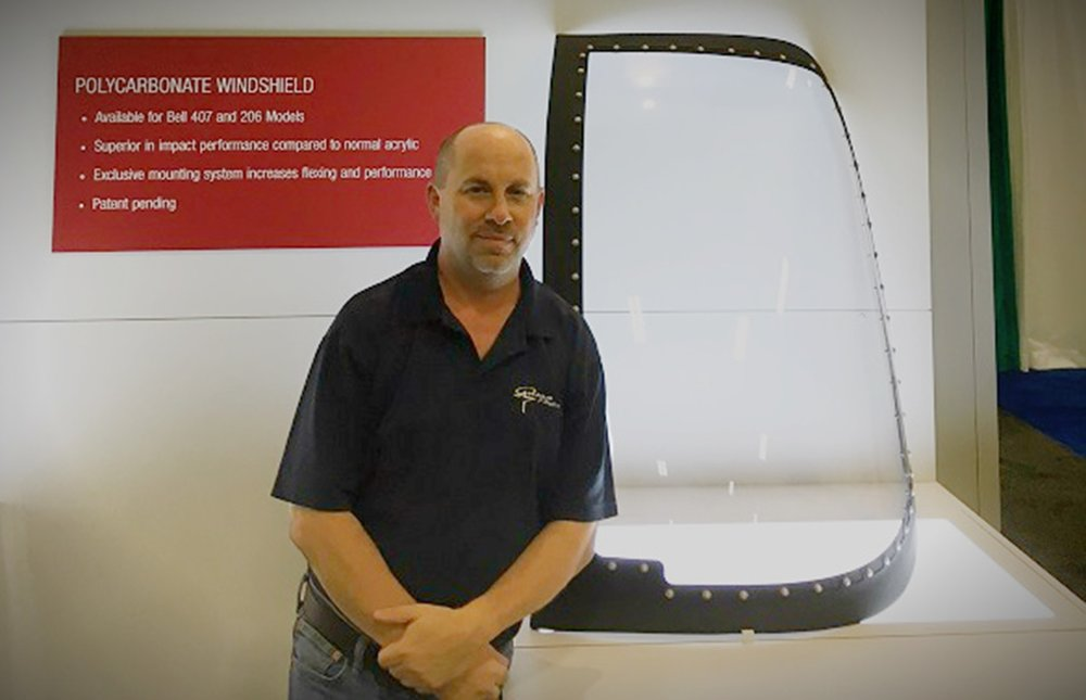267230 randal endsley standing with helicopter windshield on display df5c8e large 1513005700