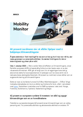 EVBox Mobility Monitor_Norway