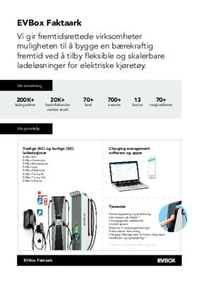 EVBox Group Factsheet 2021_Norway