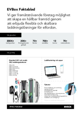 EVBox Group Factsheet 2021_Sweden