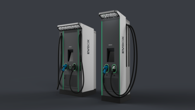 Fast-chargers: EVBox Troniq 100 and EVBox Ultroniq