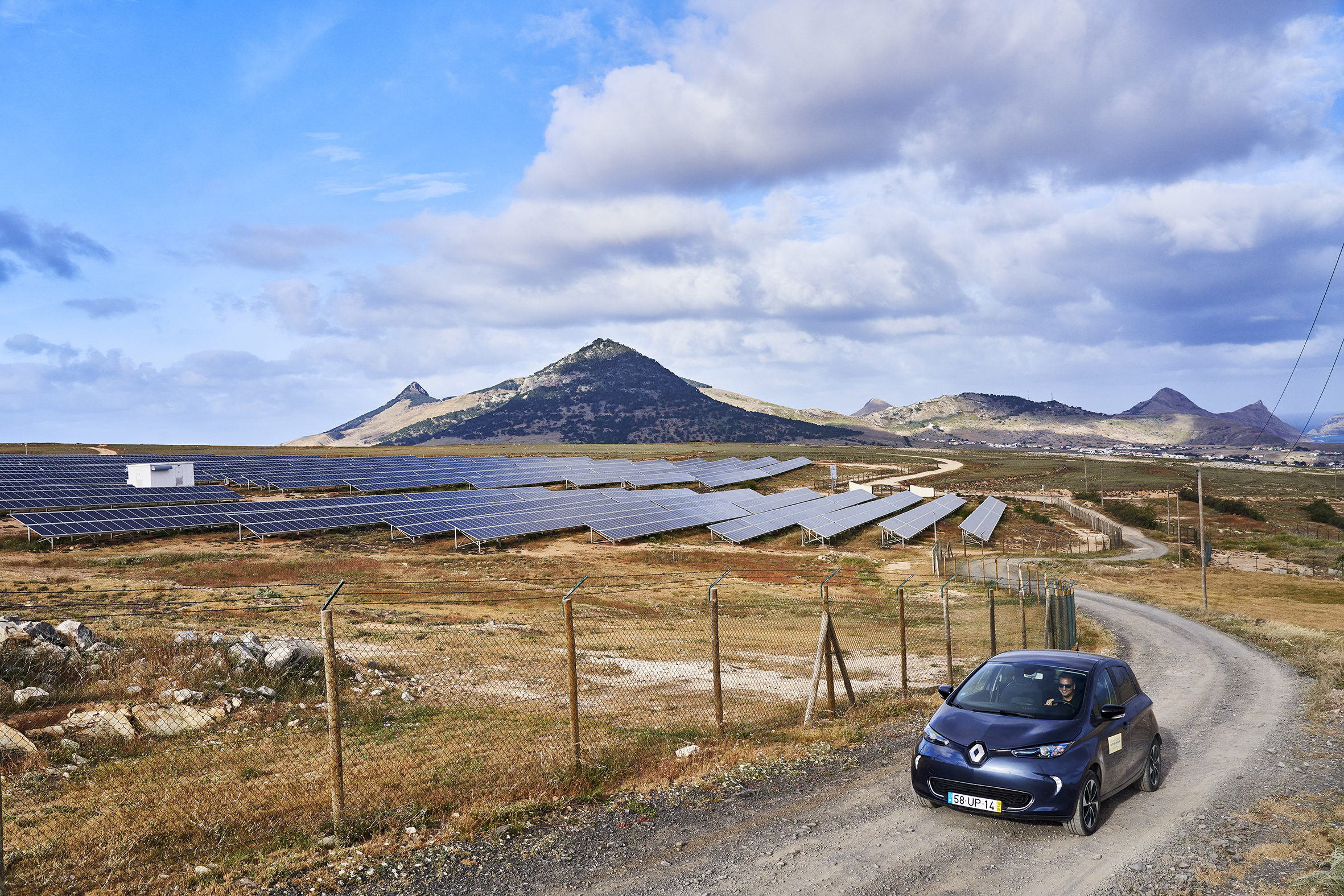 Porto Santo V2G project, The Mobility House and EVBox