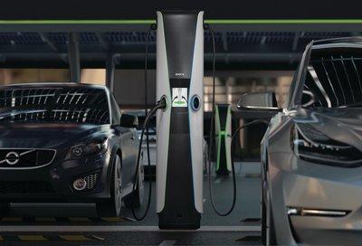 EVBox Iqon level 2 charging station