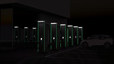 EVBox Ultroniq night parking
