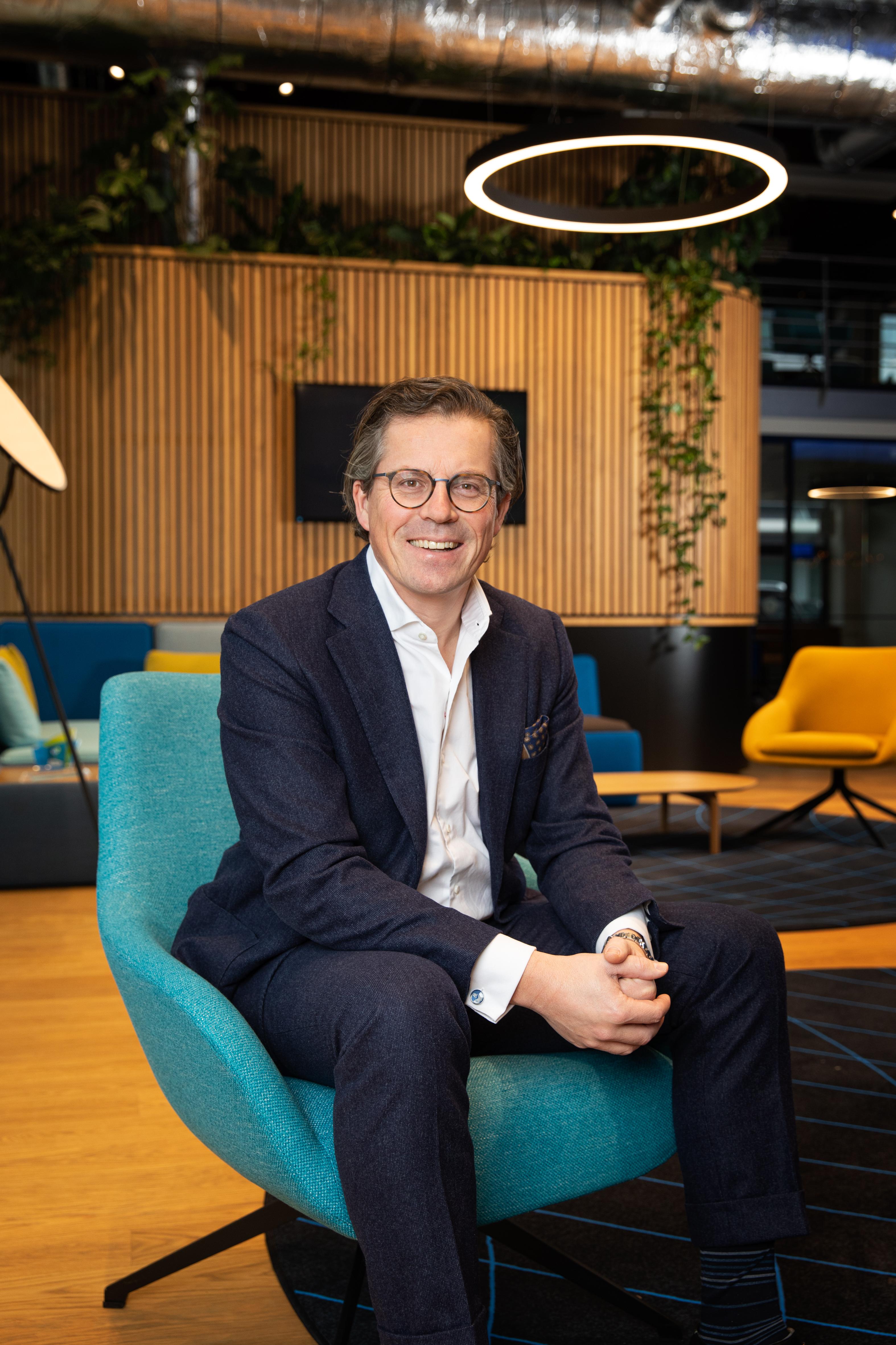 Kristof Vereenooghe, CEO of EVBox Group