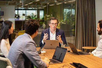 Kristof Vereenooghe, CEO of EVBox Group & team