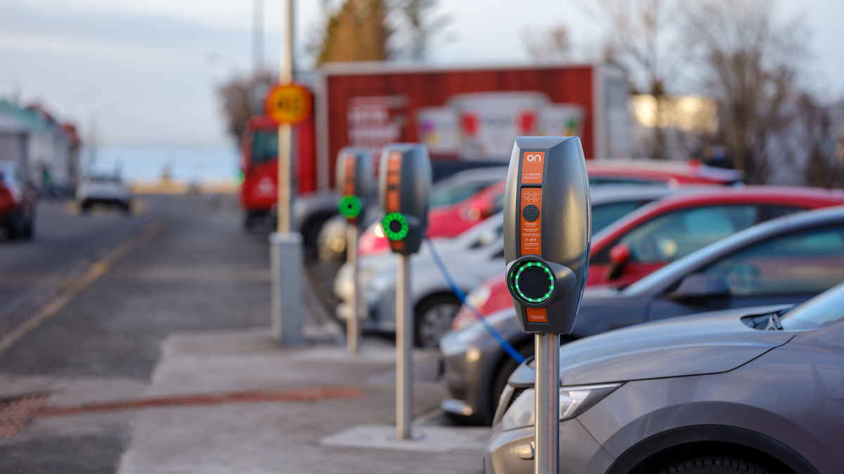 EVBox BusinessLine in Reykjavik