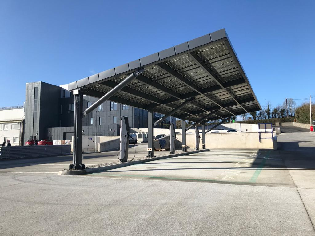 EVBox Iqon charging stations at Kingspan's IKON Innovation Centre
