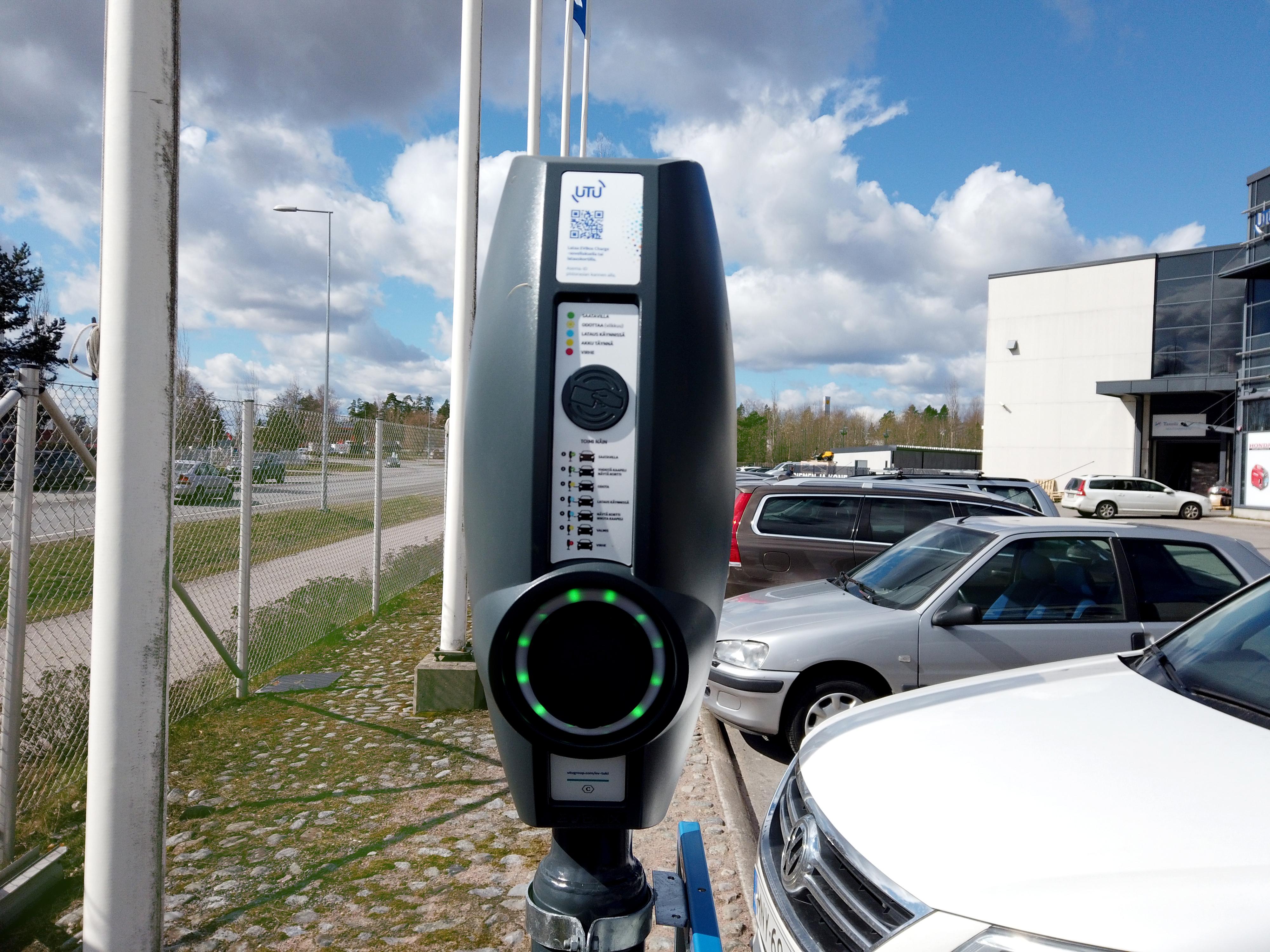 EVBox BusinessLine in Finland