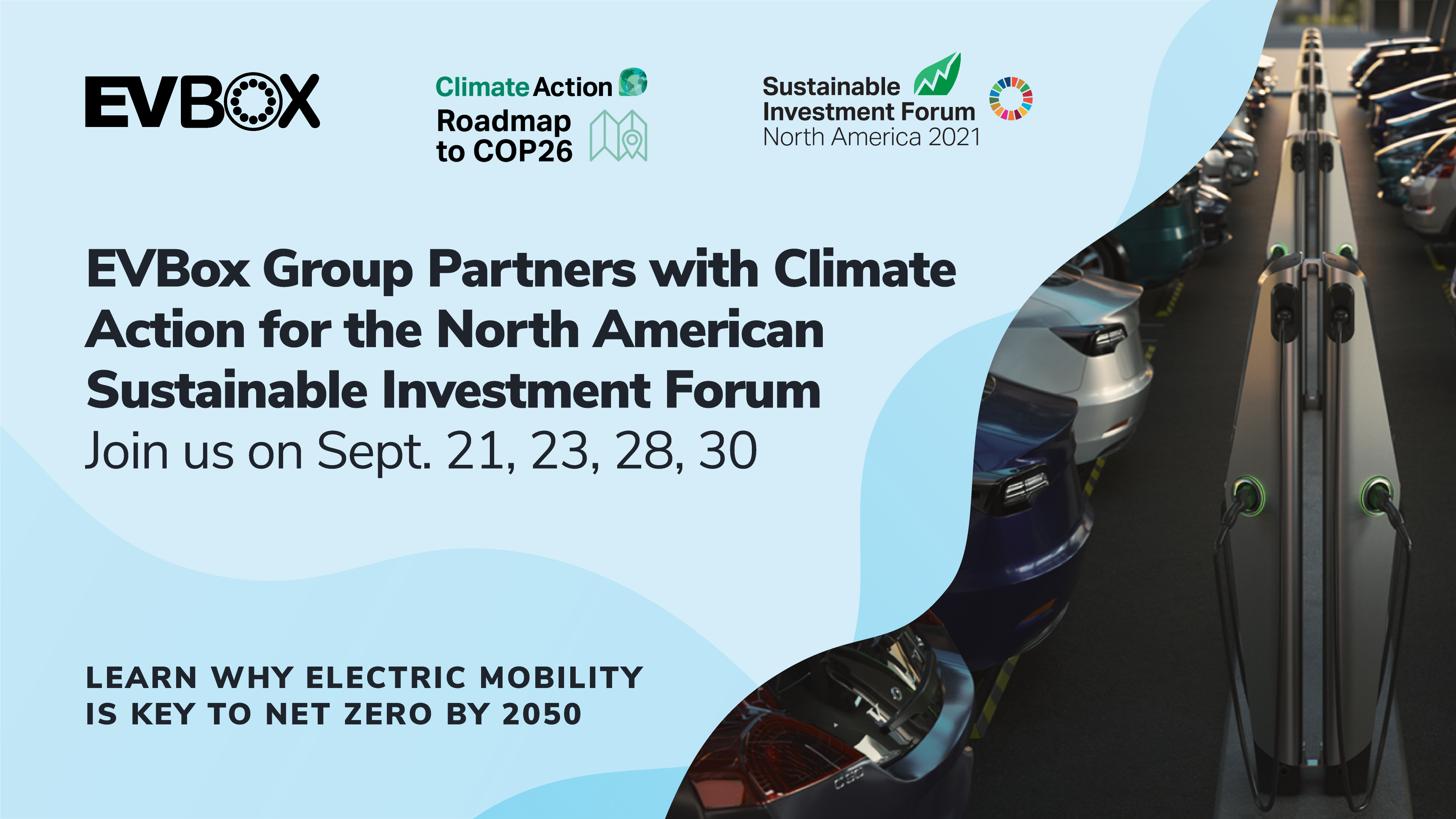 EVBox partners with the North America Sustainable Investment Forum