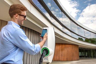 EVBox BusinessLine workplace charging