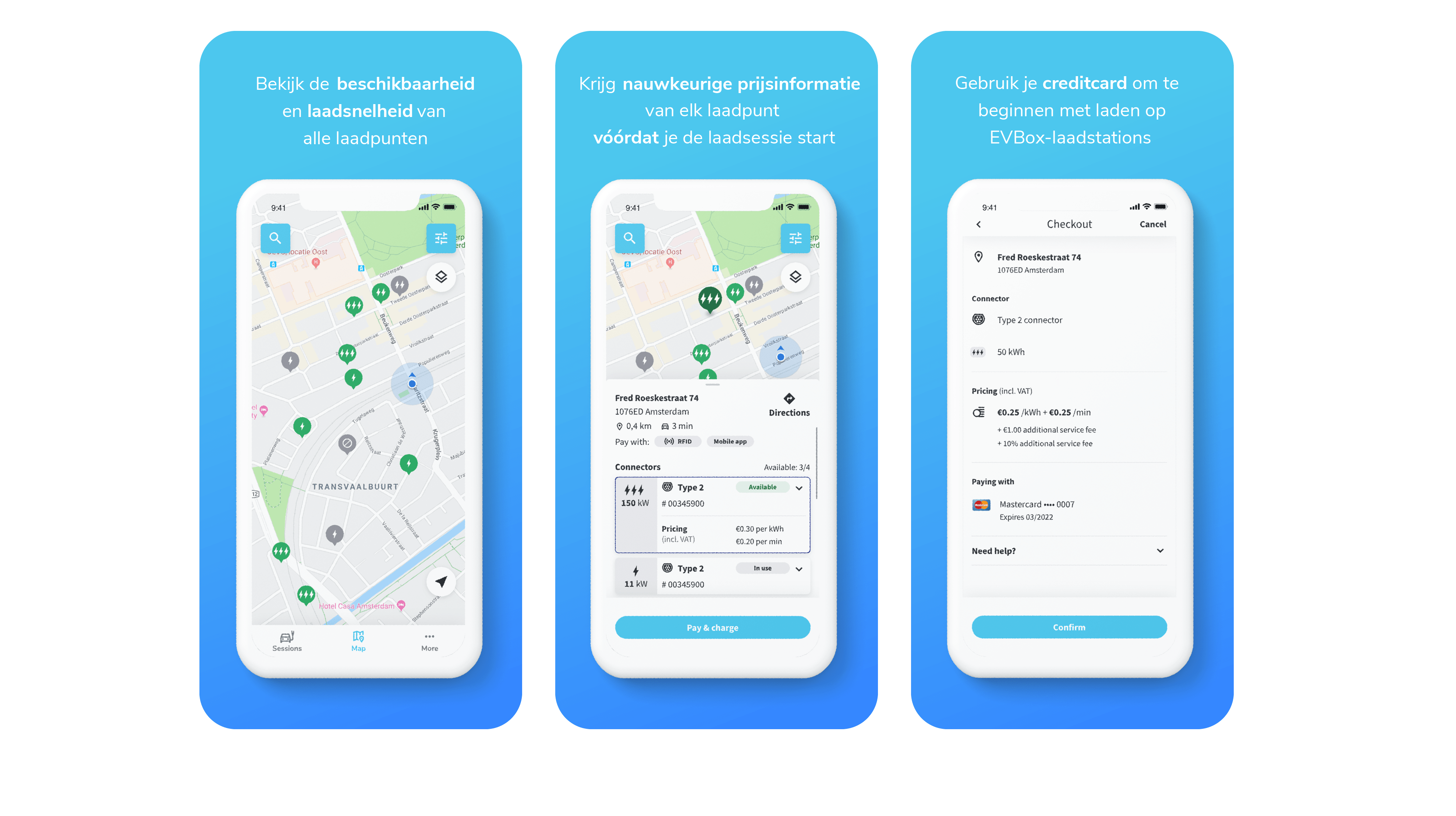 EVBox Charge App