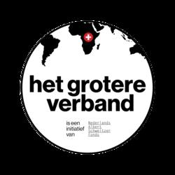 Het grotere verband logo