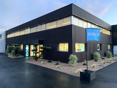 EVBox Bordeaux nouvelle usine et centre de R&D