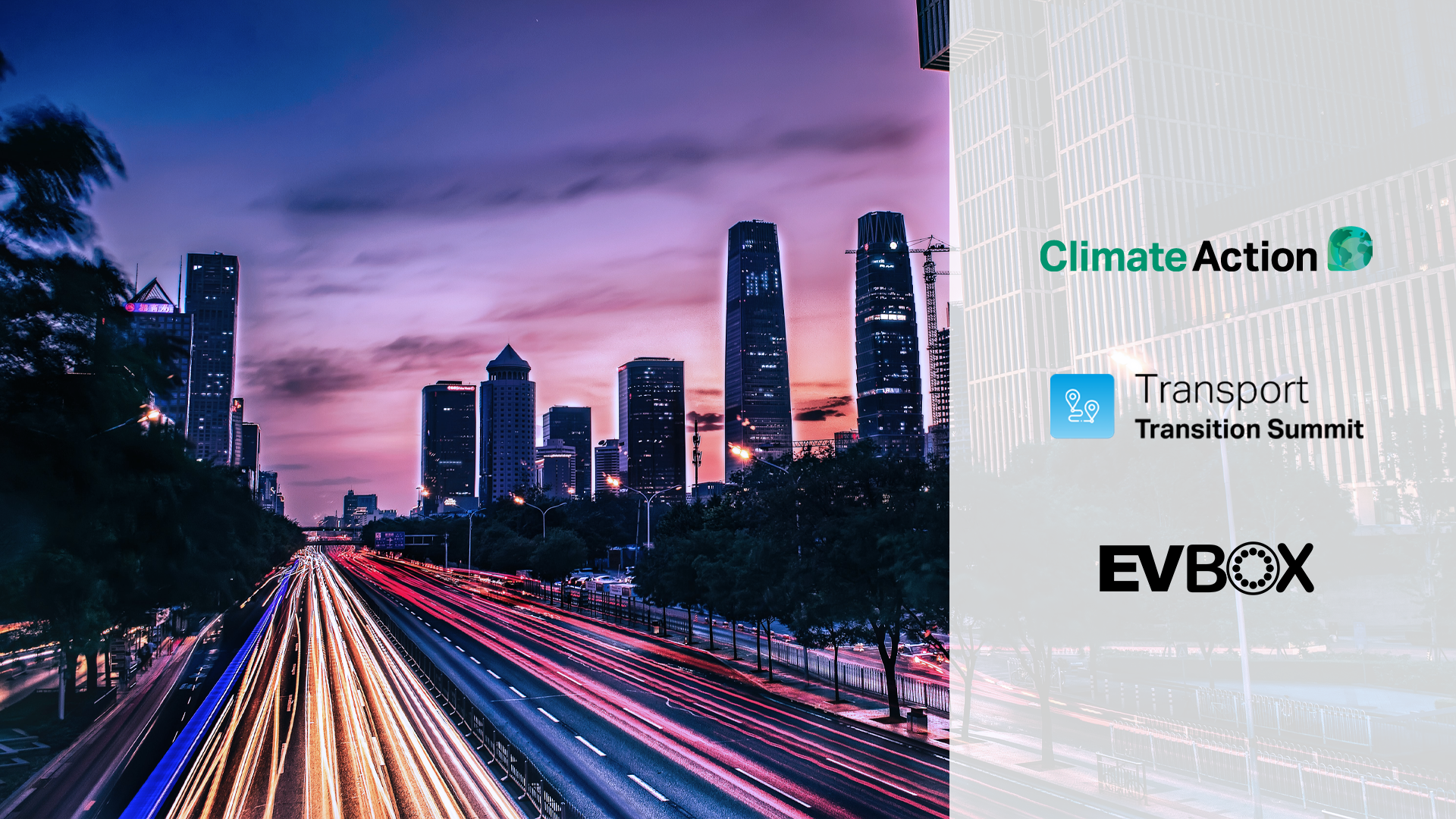 EVBox Group participera au Transport Transition Summit
