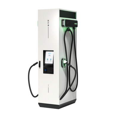 Chargeur rapide EVBox Troniq Modular made in France