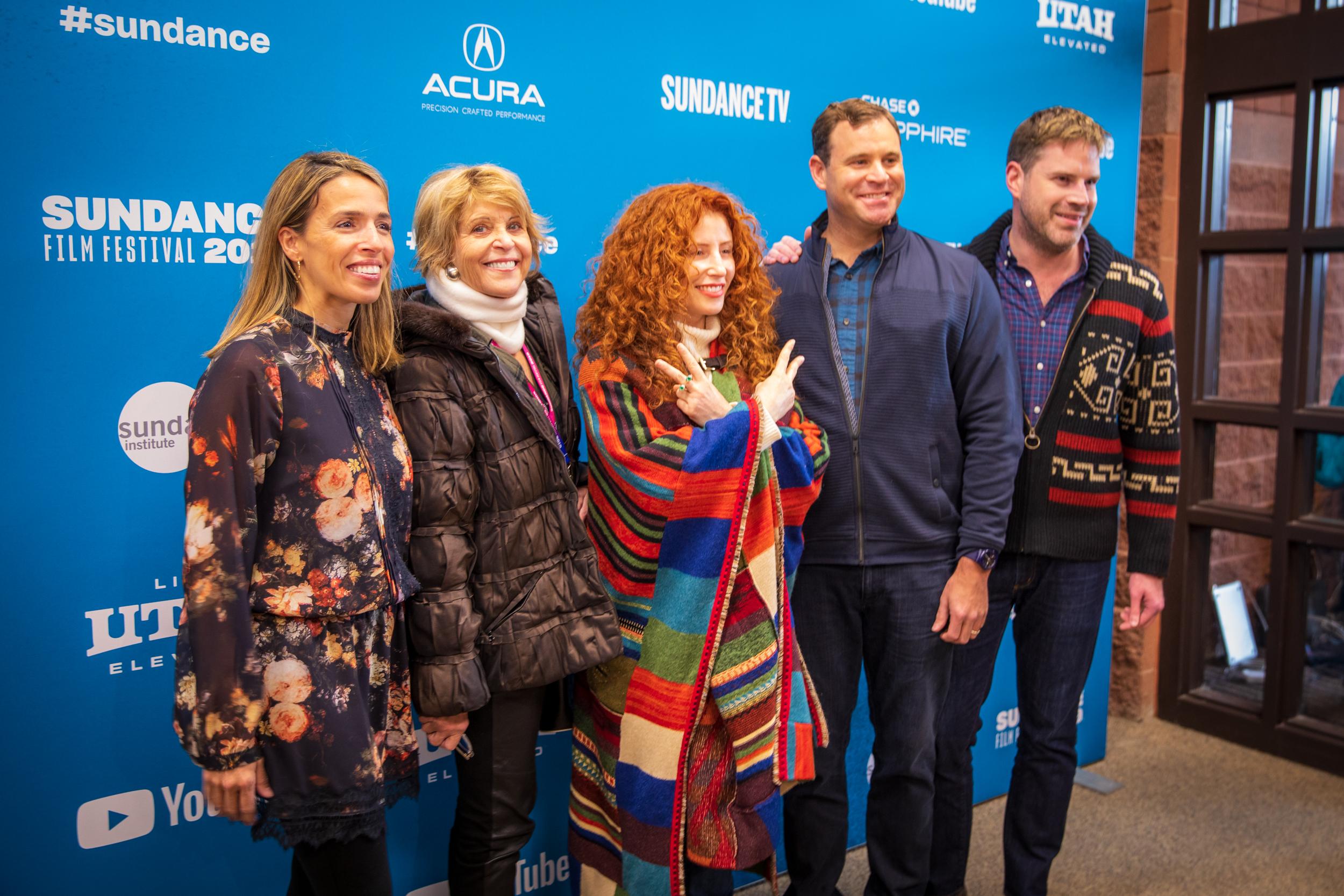 Natasha, Dagmar, David and Tom Dolby with Alma Har'el, Honey Boy