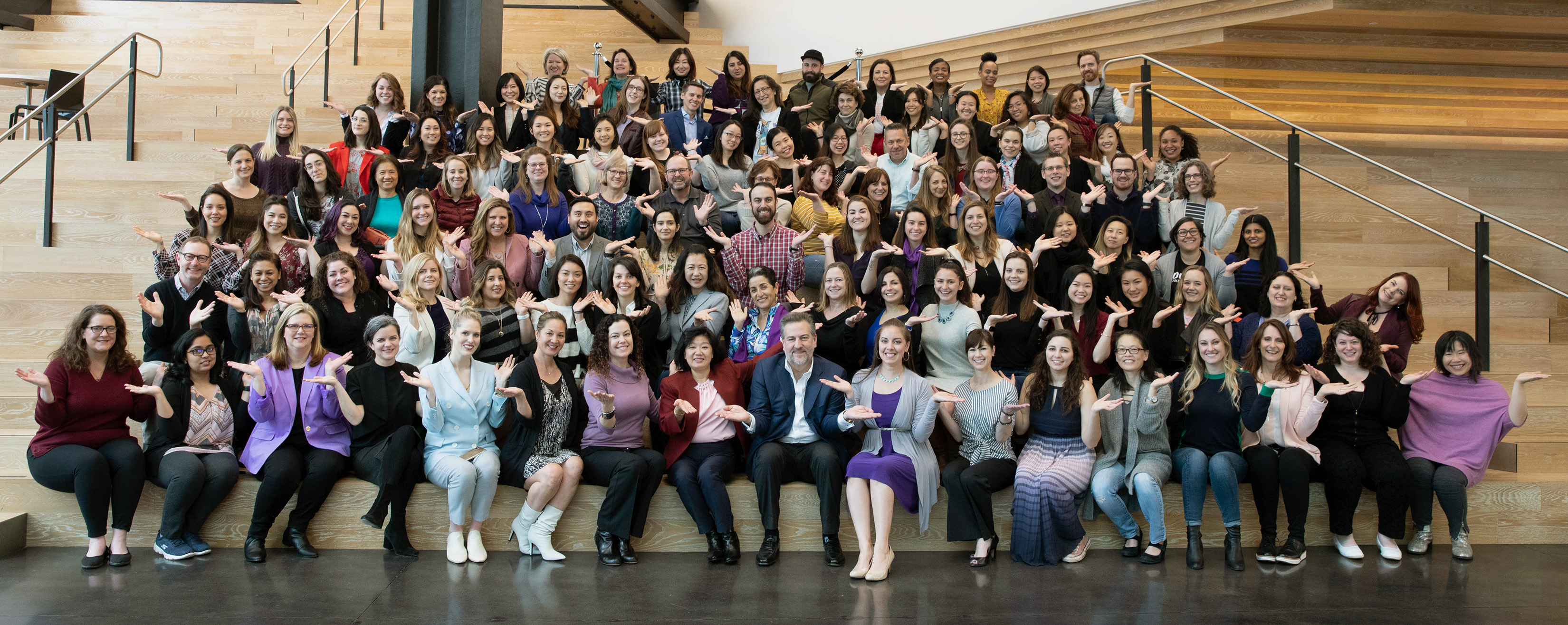 2019 Dolby International Womens Day Group Shot