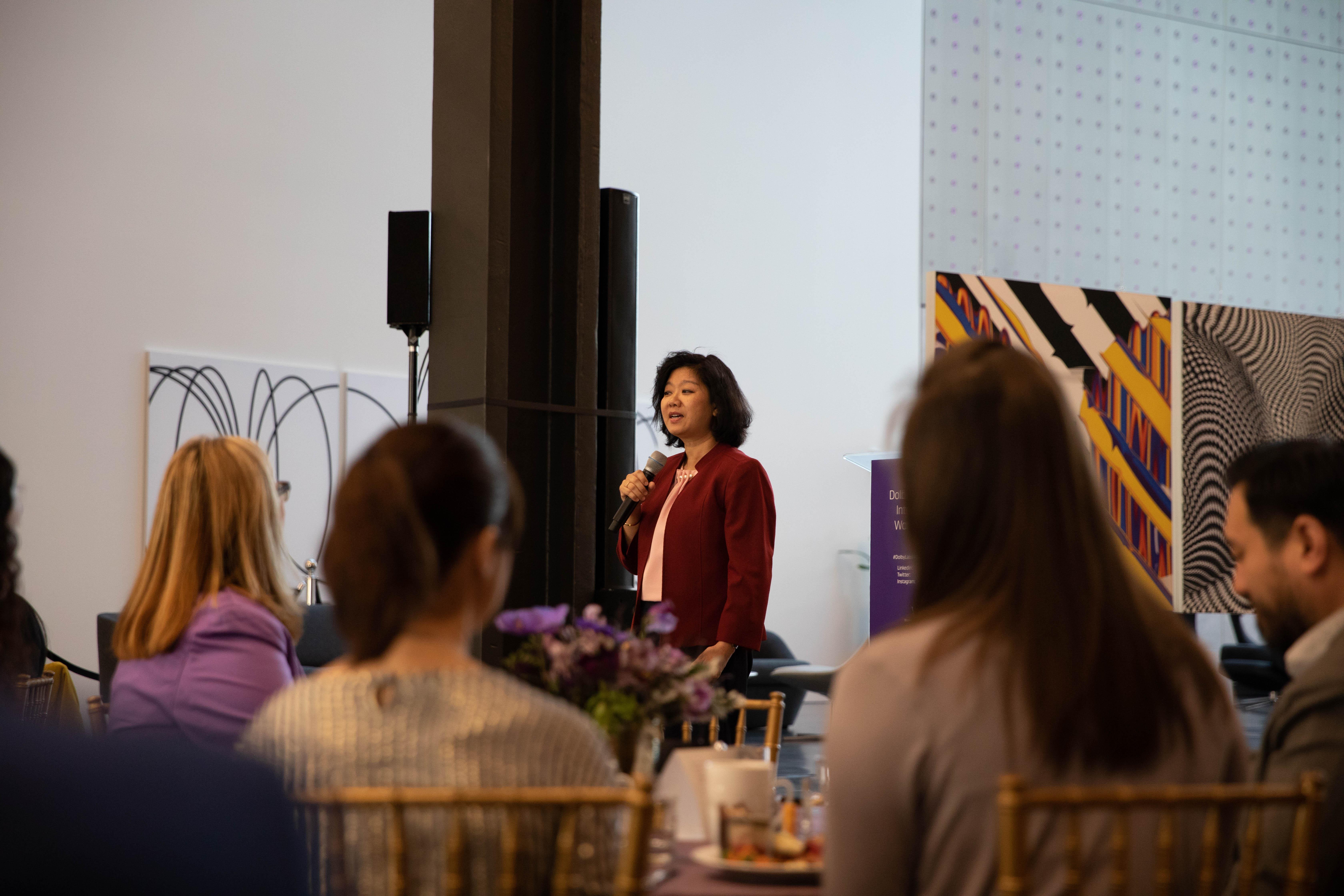 2019 Dolby International Womens Day Judy Kopa of Cisco