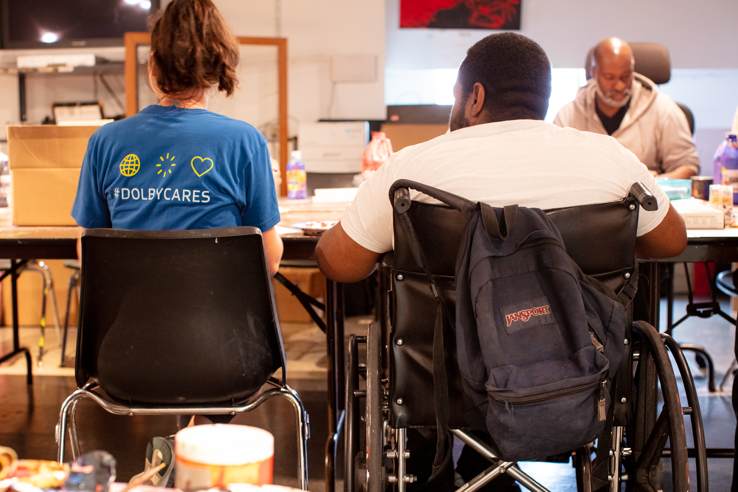 2019 Dolby Cares Day at Arc of San Francisco