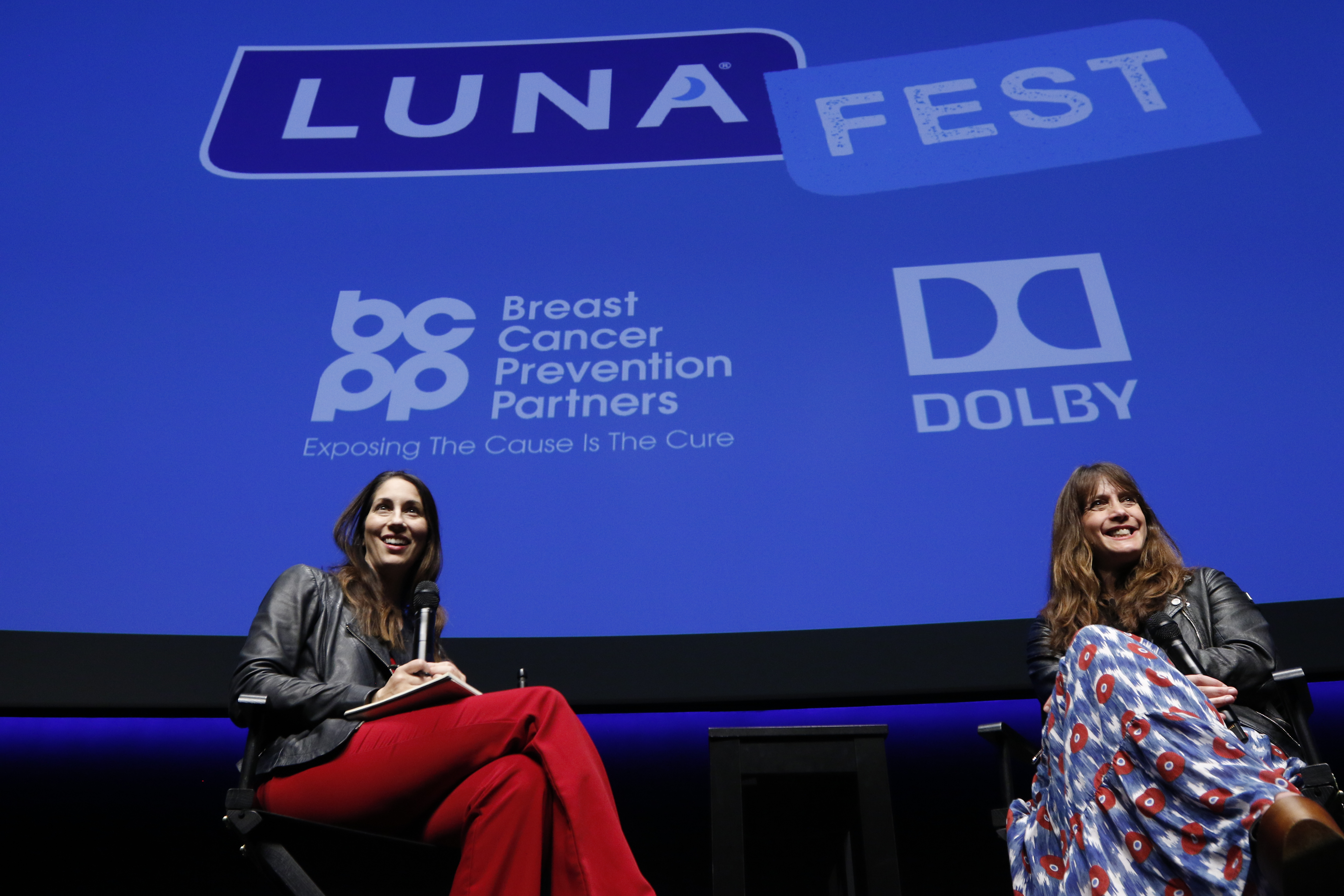 Lauren Goode and Dana Nachman at LUNAFEST
