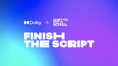 Dolby-X-GFS-Finish-the-Script-Lockups_Lockup-Horizontal-White-on-Grad