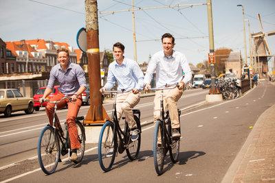 Van L naar R: Dirk de Bruijn, Richard Burger & Martijn Obers