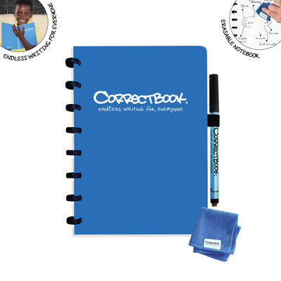 Correctbook A5 Blue lined (1)