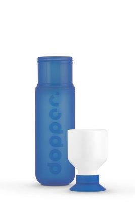 0.3 - 0840 - Dopper Original - Pacific Blue - Bottle&Cup