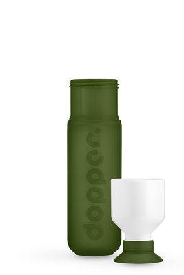 03. - 2318 - Dopper Original - Evergreen- Bottle&Cup