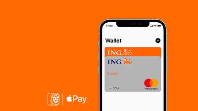 Apple Pay ING Betaalpas en Creditcard
