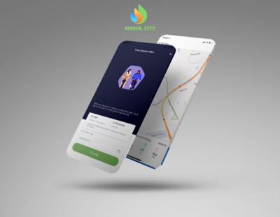 App-Screen-Mocghjbjkup-Smartphone-Perspective-Avelina-Studio