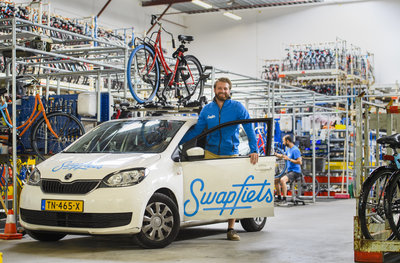 Swapfiets warehouse