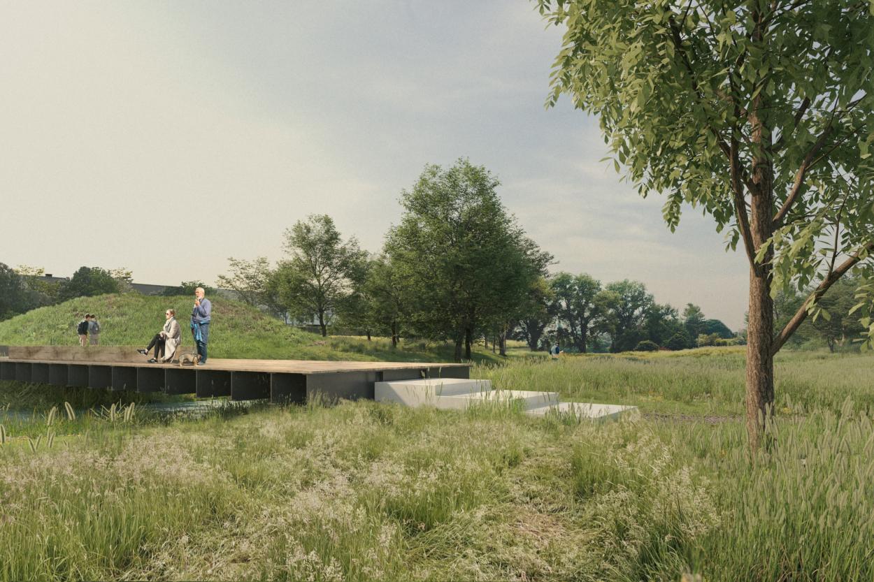 Ontwerp omgevingsaanleg Heulebeek