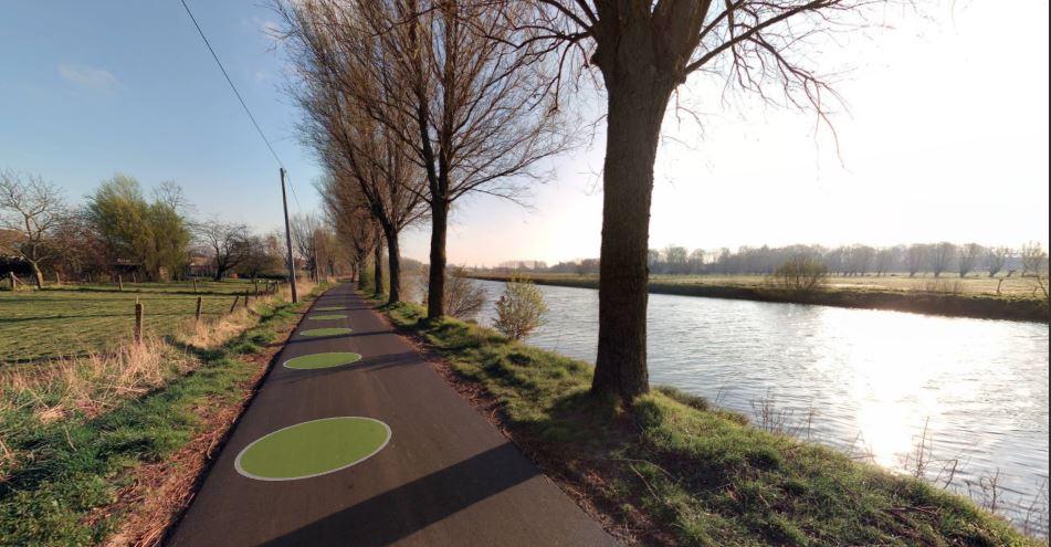 Trakelweg Bissegem (copyright: Street Smart)