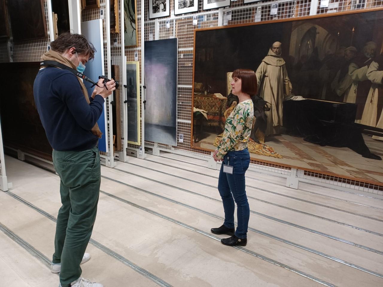 Welk verhaal schuilt achter dit schilderij van Keizer Karel? (copyright: stad Kortrijk)