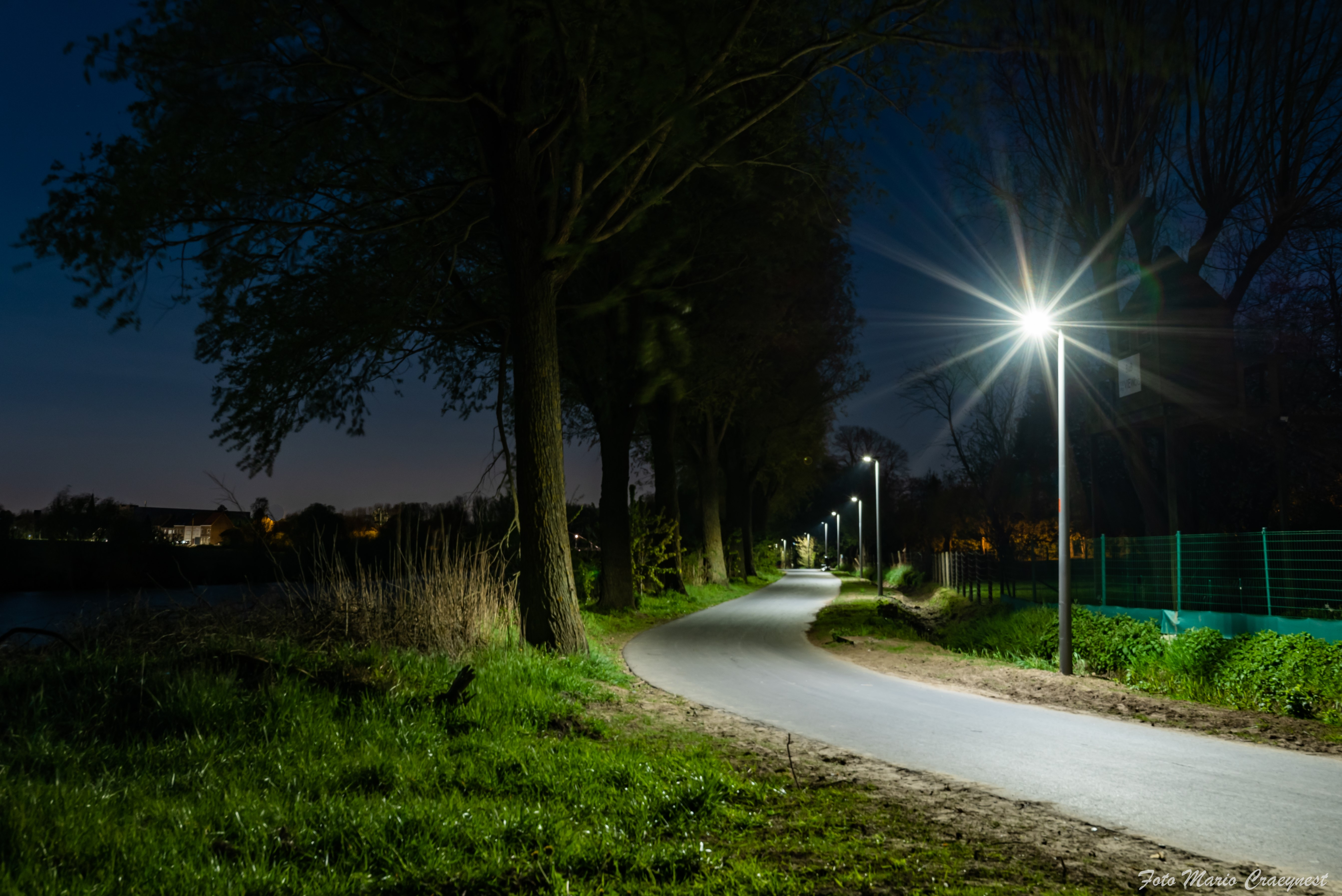 LED-verlichting langs de Leie (copyright: Kortrijk)