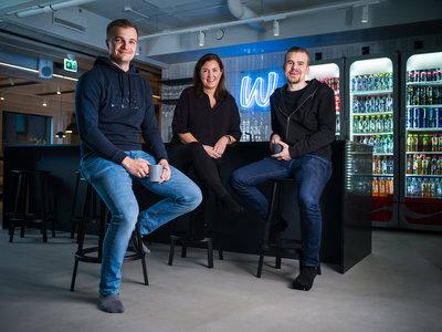 Miki Kuusi CEO, Riika Tieaho General Counsel, Riku Mäkelä COO & CFO