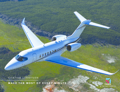 Cessna Citation Longitude Product Card