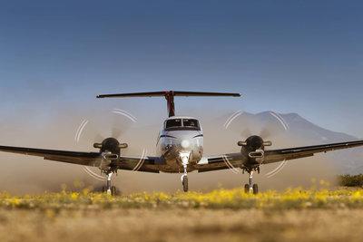 KingAir_350ER_gravel