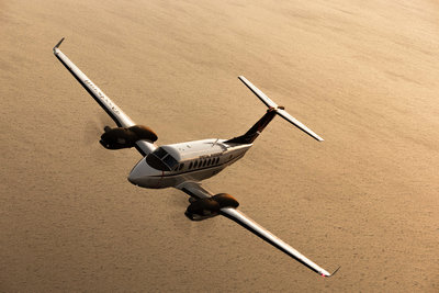 KingAir_350ER_water