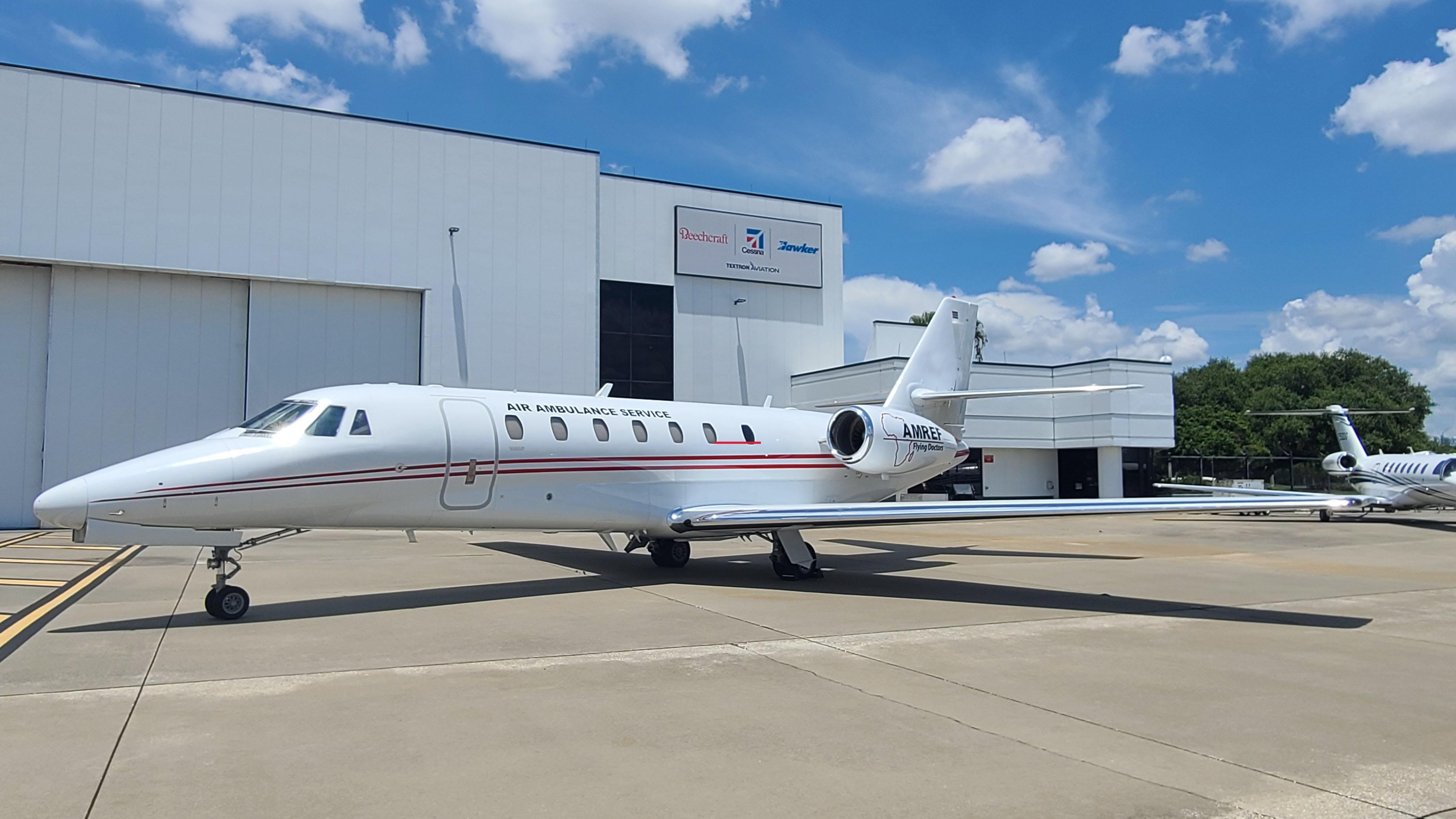 AMREF Flying Doctors Cessna Citation Sovereign exterior.jpg