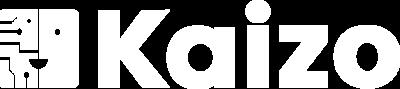 Kaizo Logo White