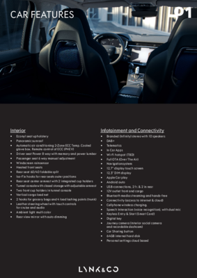 01 Car Features