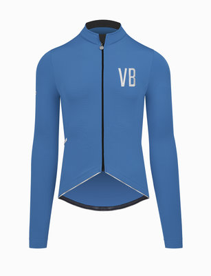 Velobici-Cobalto-Thermal-Cycling-Jersey-Front