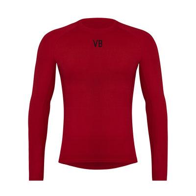 Velobici-Velvet-Thermal-Cycling-Baselayer-Front