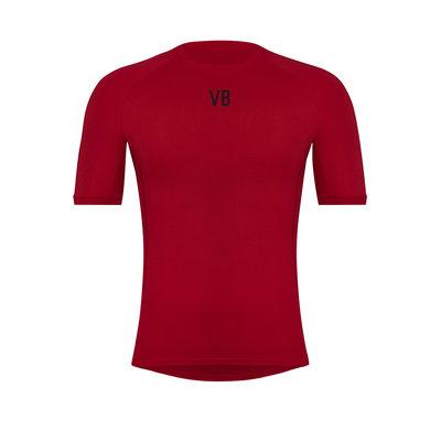 Velobici-Velvet-Short-Sleeve-Thermal-Cycling-Baselayer-Front