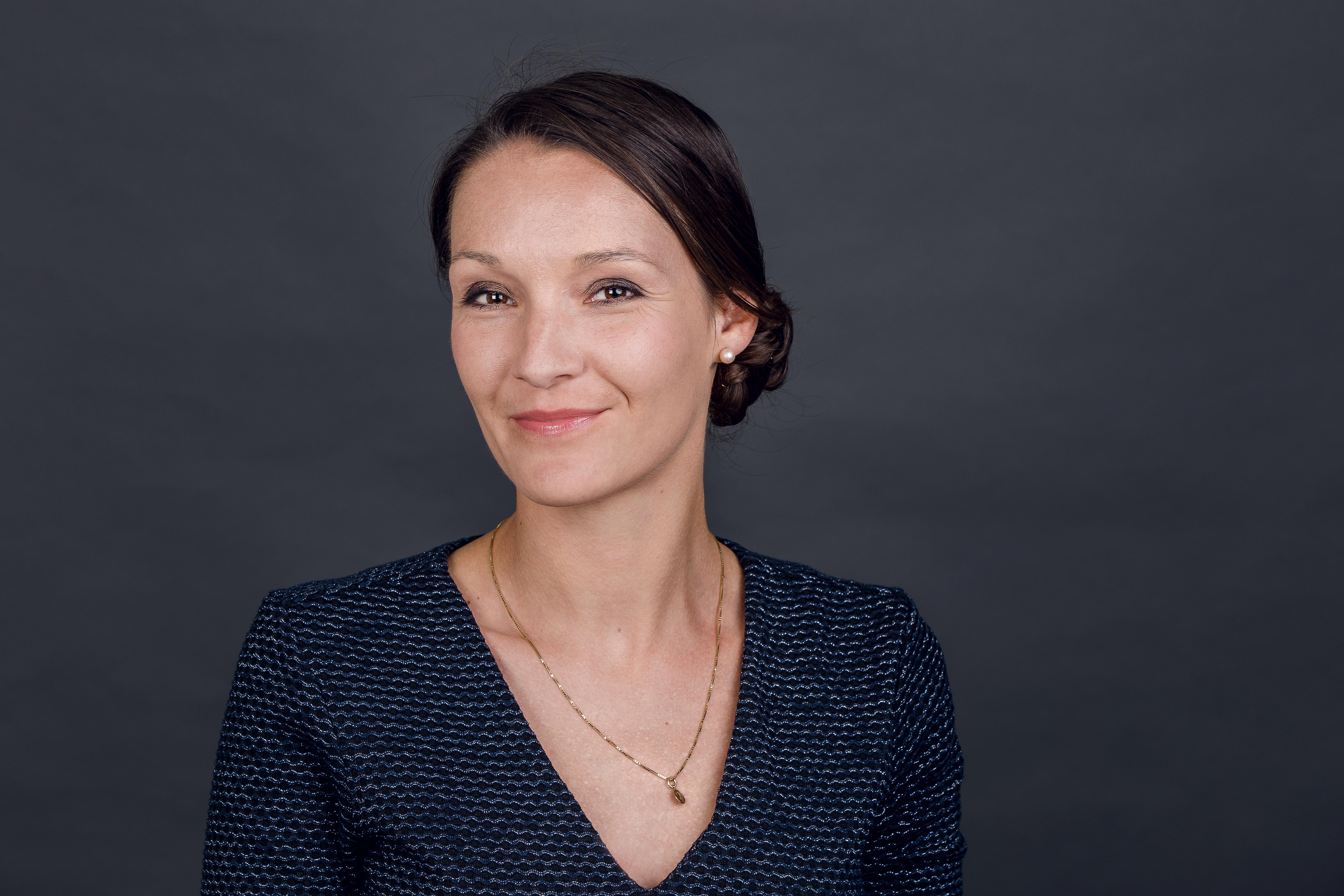 Simona Pfister,  Geschäftsleitungsmitglied und Vertriebsleiterin der Orell Füssli Thalia AG